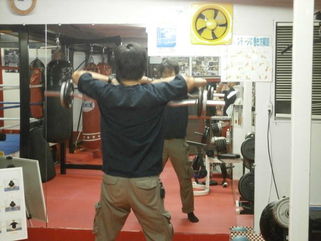 金曜日のトレーニングの様子②!!