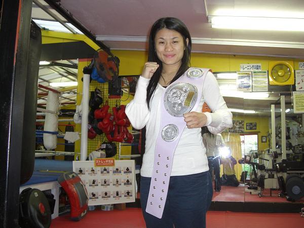 50kg日本女子チャンピオン