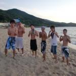 海水浴(☆ω☆)!!