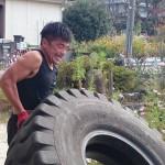 ハンマー&タイヤトレーニング!!