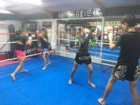 明日は、朝から晩までキックボクシング(^◇^)┛